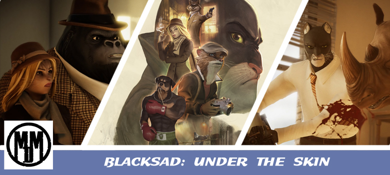 Blacksad Under The Skin Video Game Review Xbox One PS4 PC Mac Header