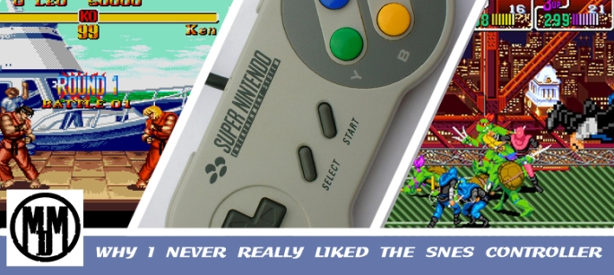 Why I Never Really Liked The SNES Controller Nintendo SEGA Mega Drive Genesis Header