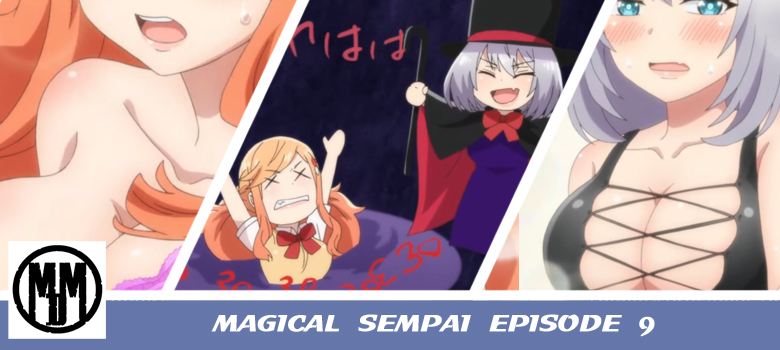 Magical Sempai Tejina Sempai Episode 9 Header Biased Make Up Exam ice Cream Swimsuit