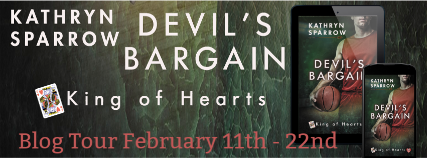 Devil's Bargain kathryn sparrow indigo marketing MM romance paranormal fantasy