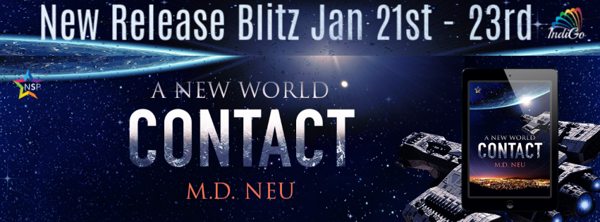 Contact A New World MD Neu Sci-Fi MM Romance LGBT IndiGo Marketing