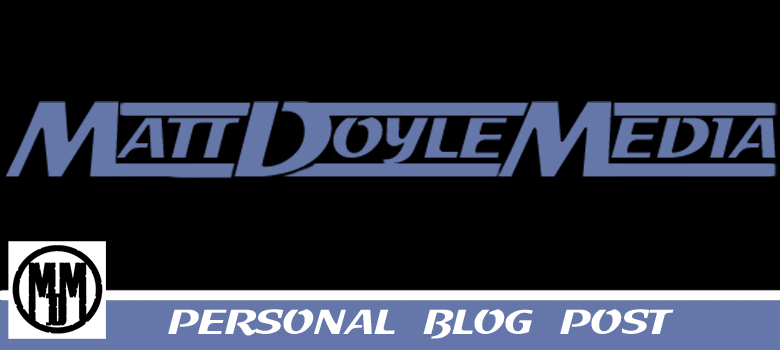 Personal Blog Post Header