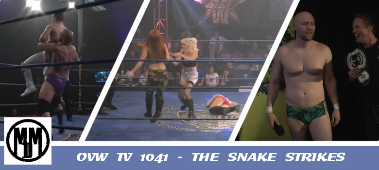 OVW TV 1041 The Snake Strikes Pro Wrestling Review Header
