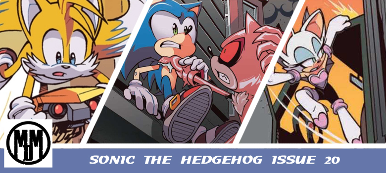 IDW Sonic The Hedgehog Issue 20 Header