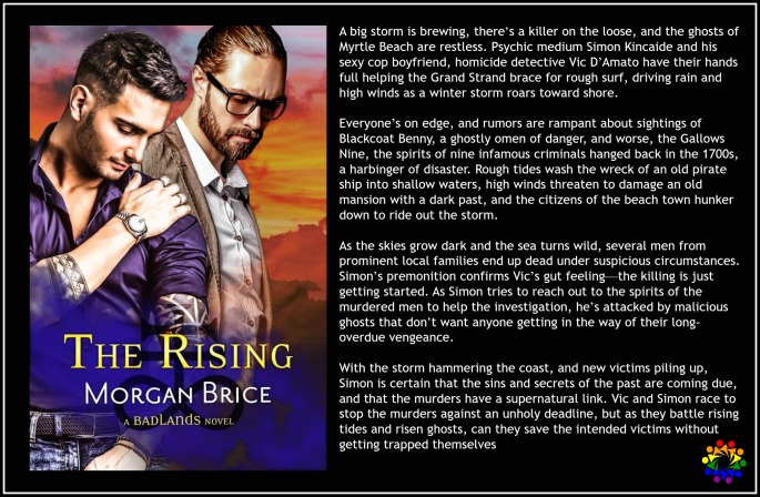 The Rising Morgan Brice MM Paranormal Romance