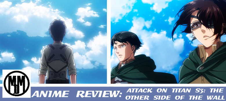 Attack On Titan Shingeki No Kyojin Season Three The Other Side Of The Wall Header