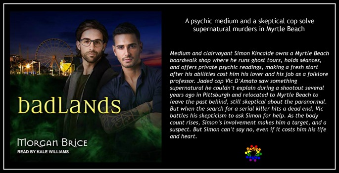 badlands Morgan Brice MM Paranormal Romance