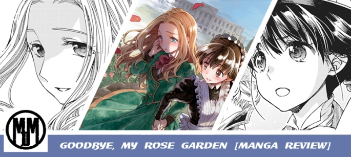 goodbye my rose garden lgbtq yuri historical romance manga volume one review header