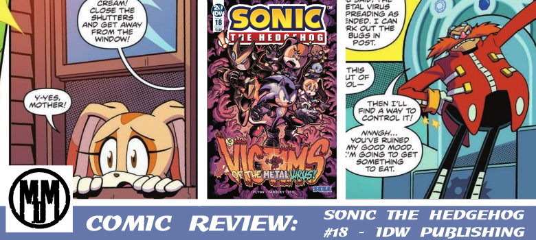 IDW Sonic the Hedgehog issue 18 Header