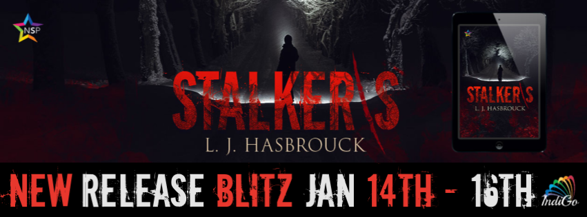 Stalkers LJ Hasbrouck New Adult Horror Zombies MMRomance Trans