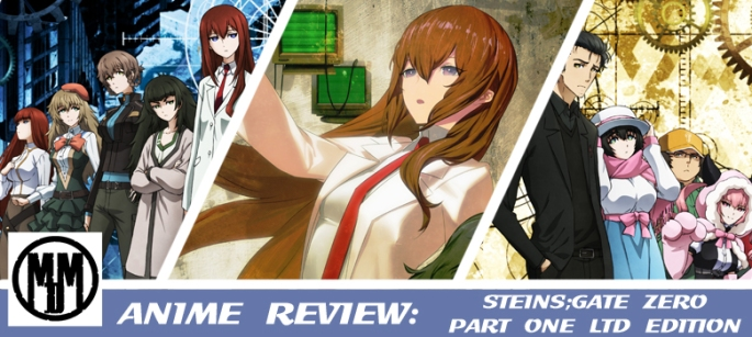 Steins Gate Zero Part One Manga Entertainment Limited Edition