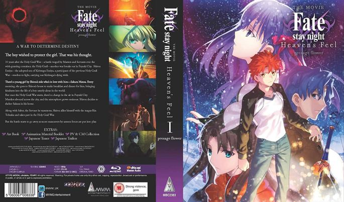 Fate/Stay Night Heaven's Feel: Presage Flower Cover Art