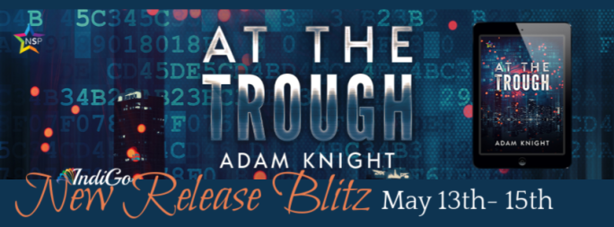 At the Trough Adam Knight LGBT LGBTQ Sci-Fi Dystopian Lesfic