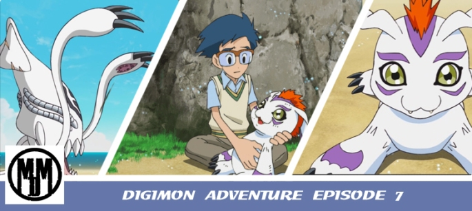 Digimon Adventure 2020 epsiode 7 that boy si joe kido gomamon ikkakumon gesomon anime episode review header