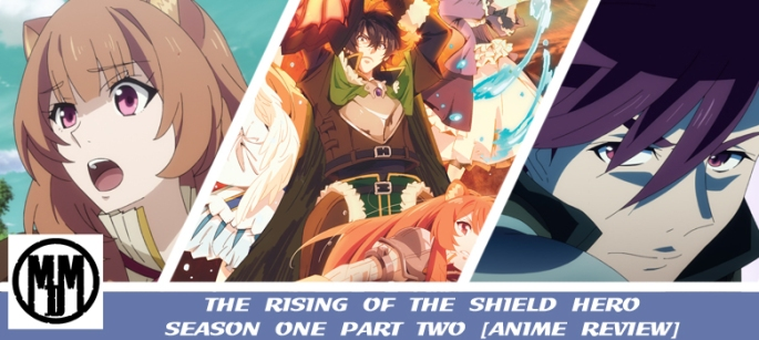 rising of the shield hero season one part two limited collectors edition manga entertainment box art anime review header