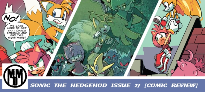 Sonic the Hedgehog Issue 27 IDW comic review header
