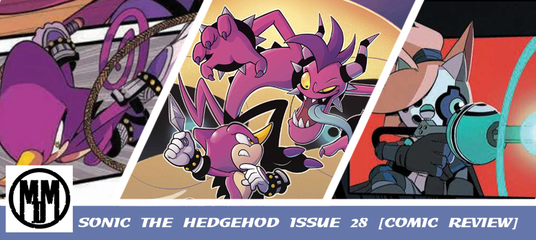 Sonic the Hedgehog Issue 28 IDW comic review header