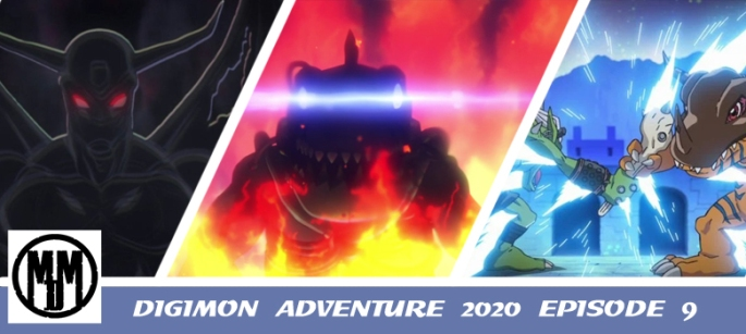 digimon adventure 2020 episode 9 the ultimate digimon attacks anime review header