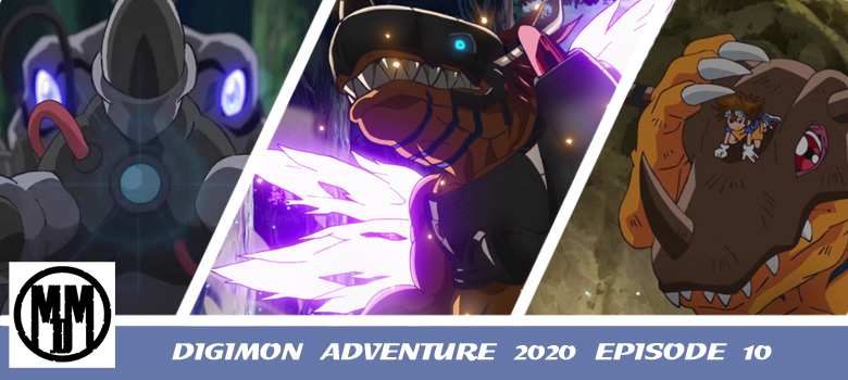 DIGIMON ADVENTURE 2020 EPISODE 10 ANIME REVIEW HEADER
