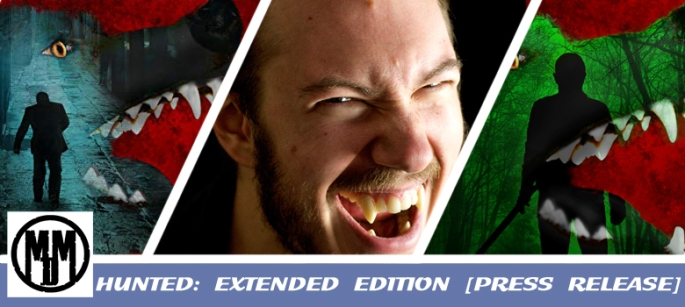 hunted extended edition by nick stead horror werewolf press release header