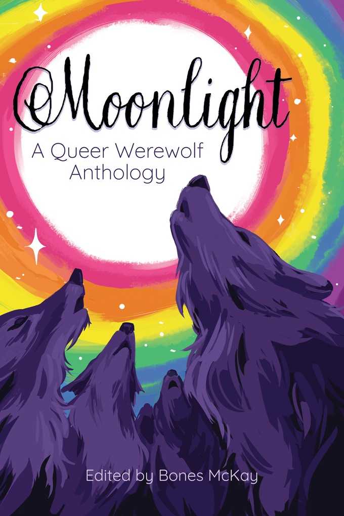moonlight a queer werewolf anthology cover