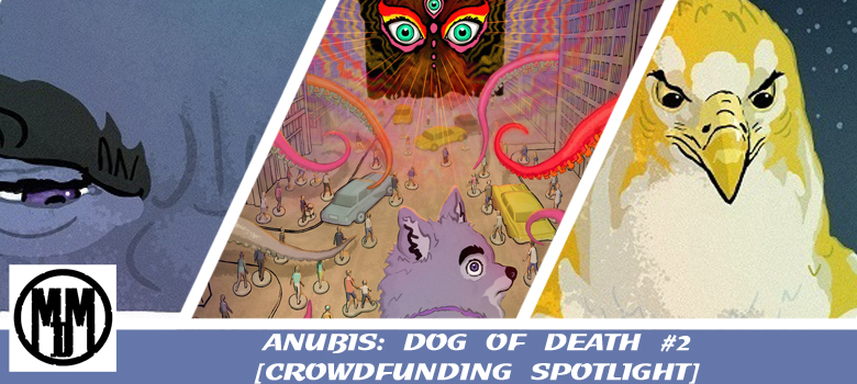 anubis dog of death issue 2 crowdfunding spotlight header