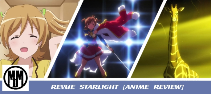 Shoujo Kageki Revue Starlight anime bluray dvd box art mvm enetertainment review header