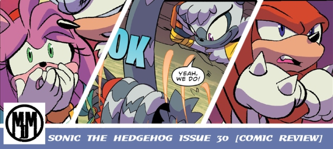 sonic the hedgehog idw issue 30 comic review header