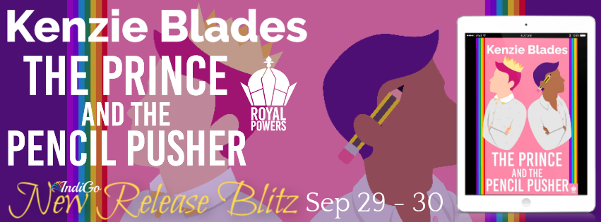 The Prince and the Pencil Pusher Blitz Banner