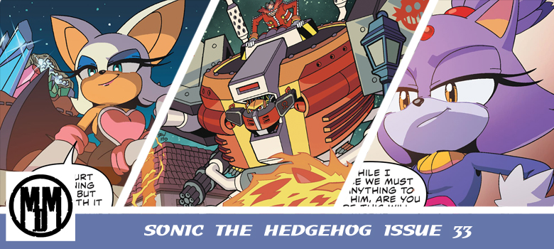 IDW Sonic issue 32 comic review header