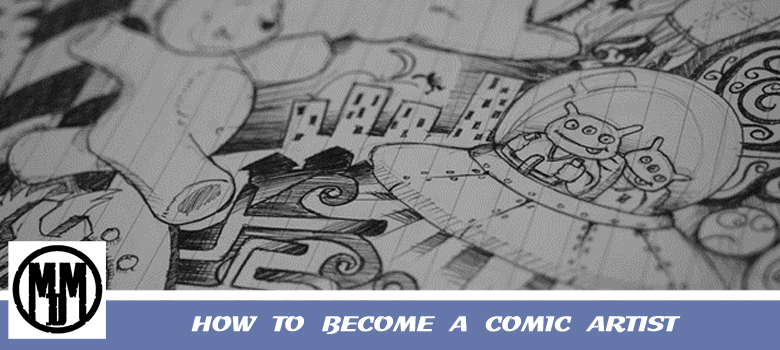 How To Become A Comic Artist Header