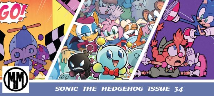 IDW Sonic the Hedgehog Issue 34 header
