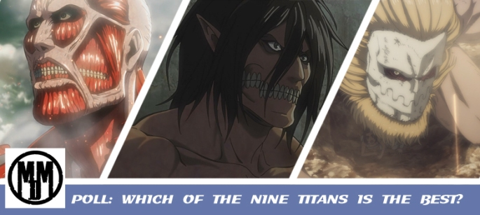 attack on titan shingeki no kyojin nine titans poll best header