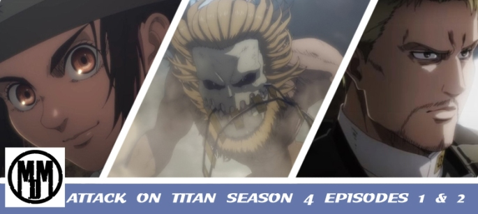 ATTACK ON TITAN SHINGEKI NO KYOJIN THE FINAL SEASON 4 EPISODE 1 2 ANIME REVIEW HEADER