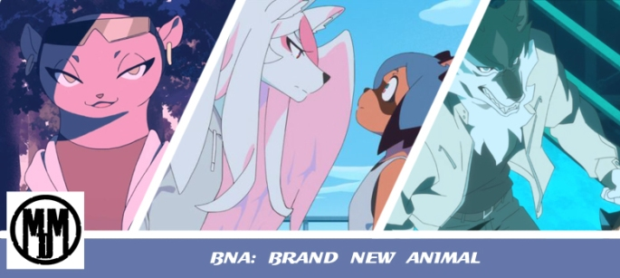 BNA Brand New Animal Netflix Studio Trigger anime review header
