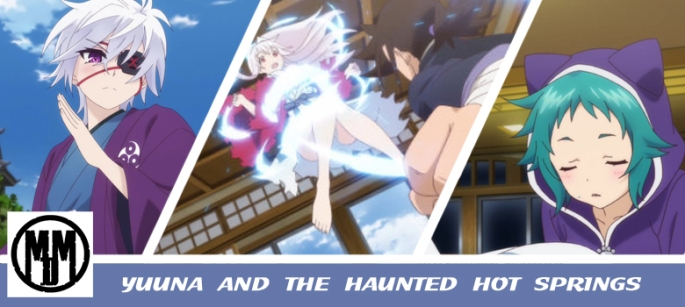 Yuuna and the Haunted Hot Springs anime review MVM Entertainment header