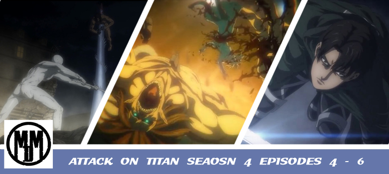 attack on titan shingeki no kyojin final season 4 episode 4 5 6 anime review header