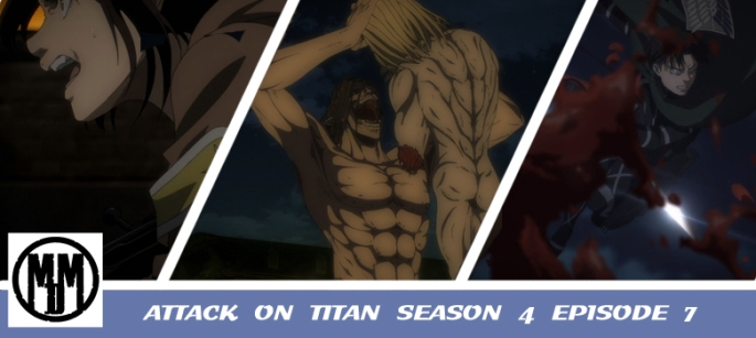 attack on titan shingeki no kyojin the final season 4 episode 7 assault anime review header