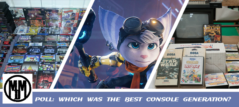 poll which was the best console generation video game header