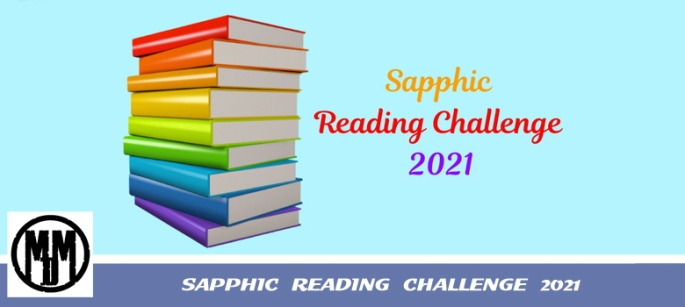 sapphic reading challenge 2021 header