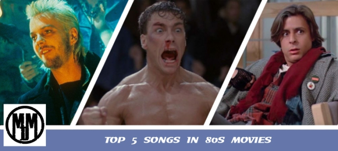 Top 5 Songs In 80s Movies Header