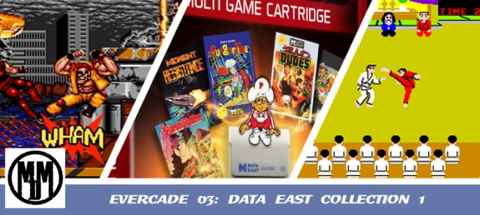 evercade 03 data east collection 1 game review header