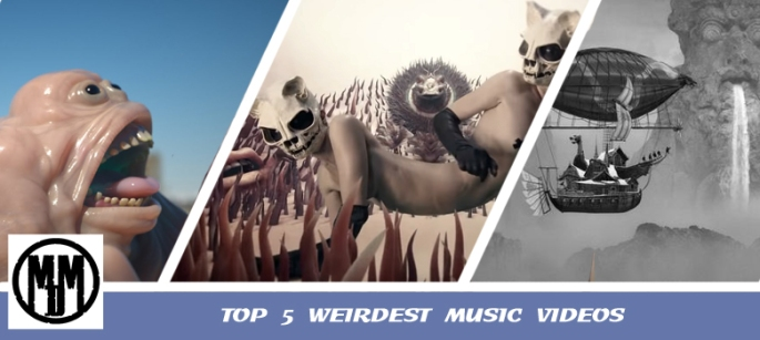 TOP 5 WEIRDEST MUSIC VIDEOS oddko igorrr smashing pumpkins of monsters and men dir en grey header