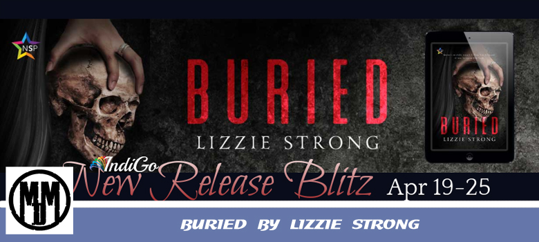 BURIED BY LIZZIE STRONG header