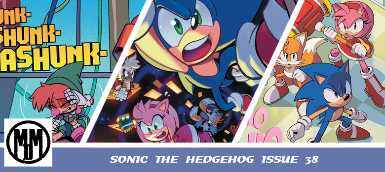 IDW Sonic The hedgehog Issue 38 comic review header