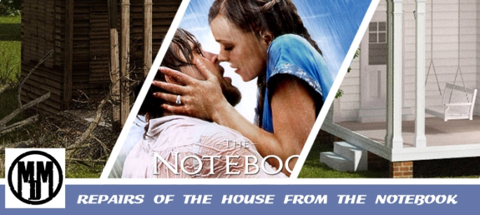 REPAIRS OF THE HOUSE FROM THE NOTEBOOK header