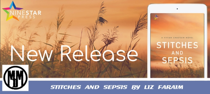 STITCHES AND SEPSIS BY LIZ FARAIM BOOK SPOTLIGHT HEADER