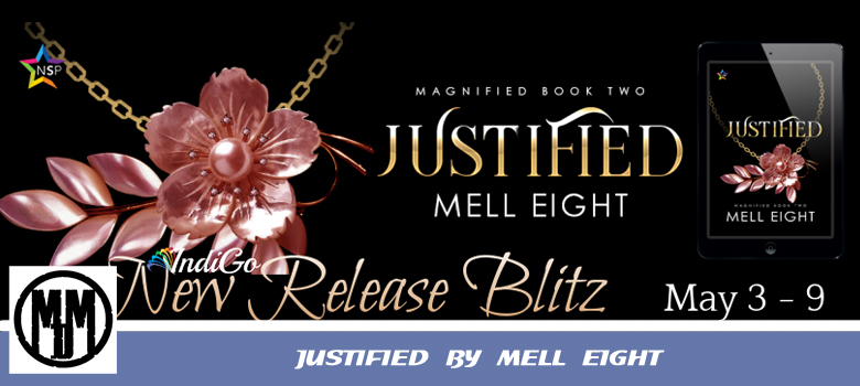 JUSTIFIED BY MELL EIGHT LGBTQ SUPERNATURAL BOOK SPOTLIGHT HEADER