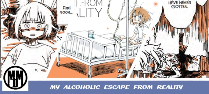 my alcoholic escape from reality seven seas entertainment manga review header