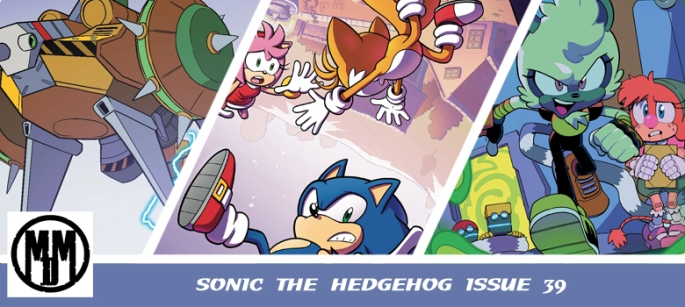 COMIC IDW Sonic issue 39 review header